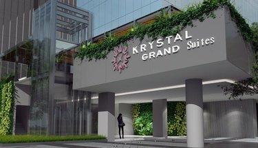 Façade Krystal Grand Suites Insurgentes Ciudad de México
