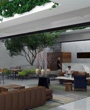 Lobby Krystal Grand Suites Insurgentes Ciudad de México